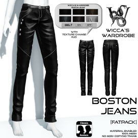 Wicca's Wardrobe - Boston Jeans (Fatpack) Vendor